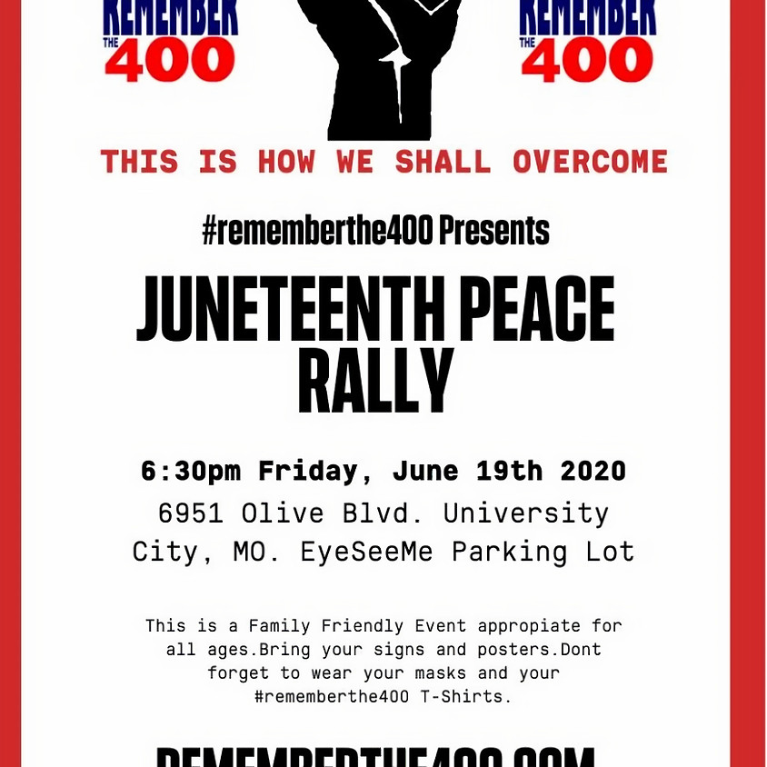 Juneteenth Peace Rally