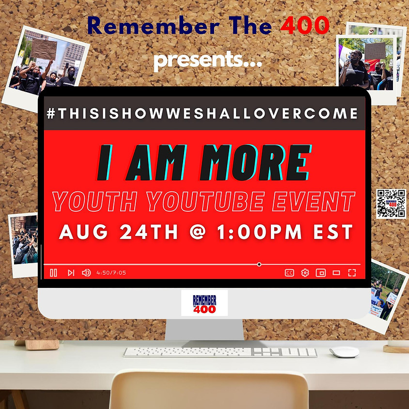 This is how we shall overcome: I AM MORE Youth YouTube Event