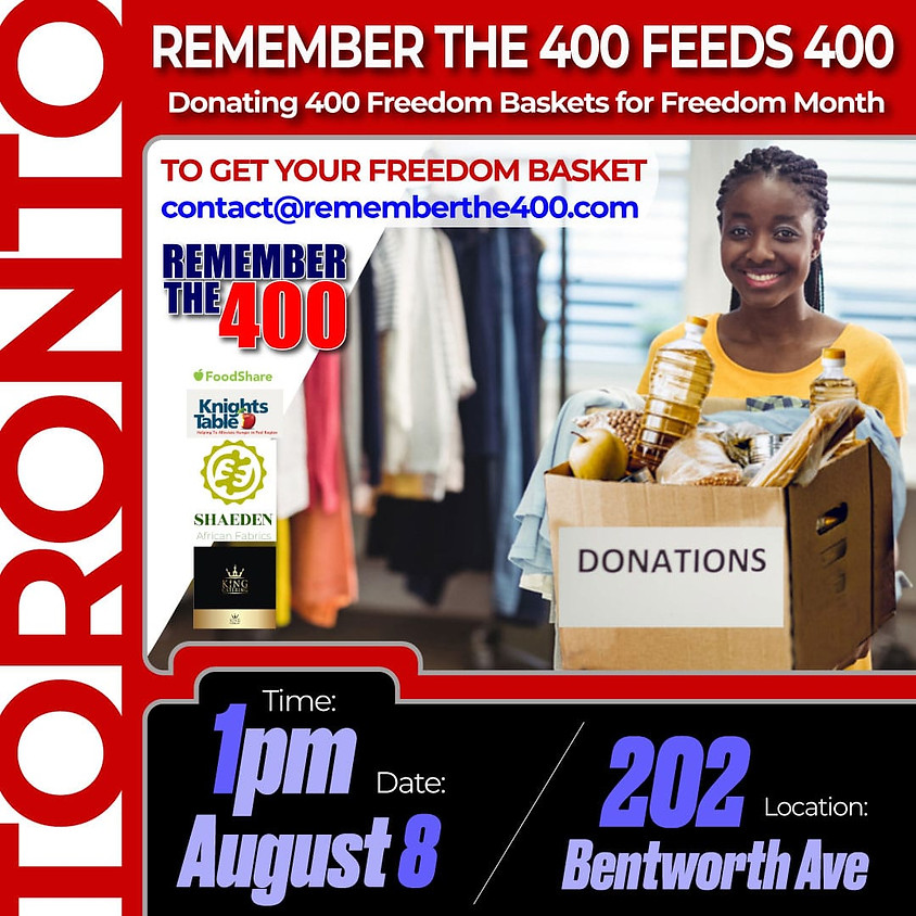 Remember The 400 Feeds 400