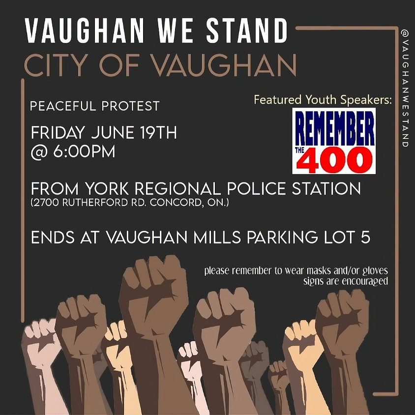 Vaughan We Stand