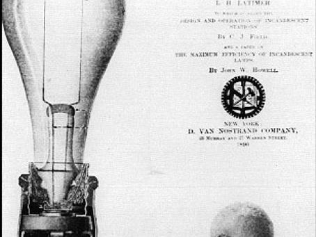 Lewis Howard Latimer - Light Bulb Carbon Filament