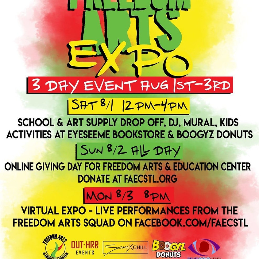 Join rememberthe400 at the 9th Annual Freedom Arts Expo