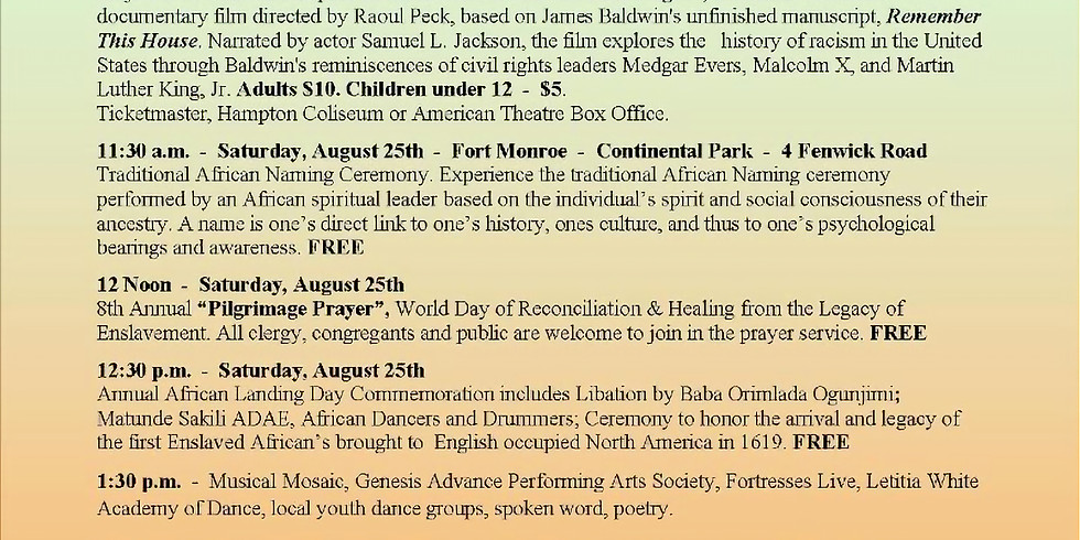 African Landing Day Commemoration
