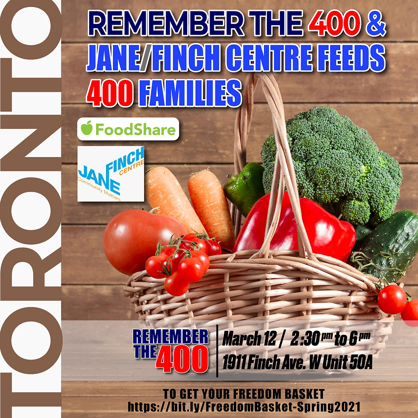 Remember The 400 & Jane/Finch Centre Feeds 400 Families