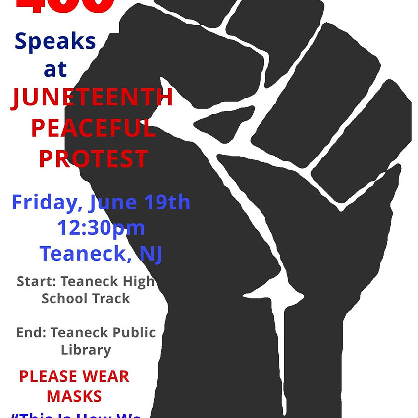 Juneteenth Peaceful Protest NY/NJ