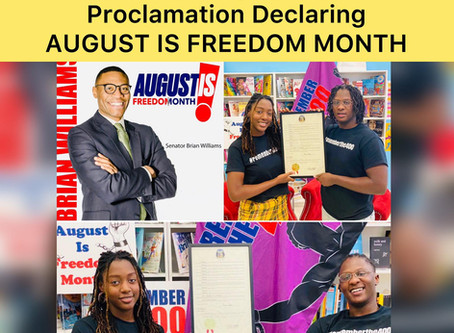 St. Louis: August Freedom Month Proclaimation