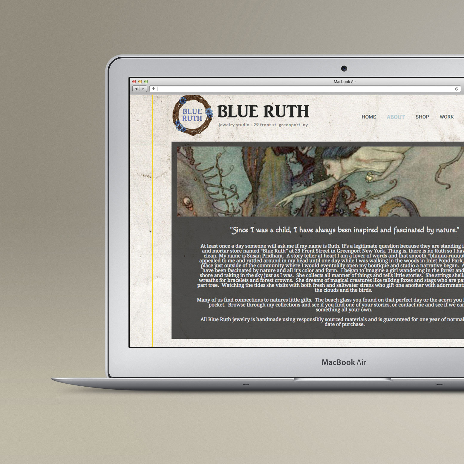 BLUE RUTH