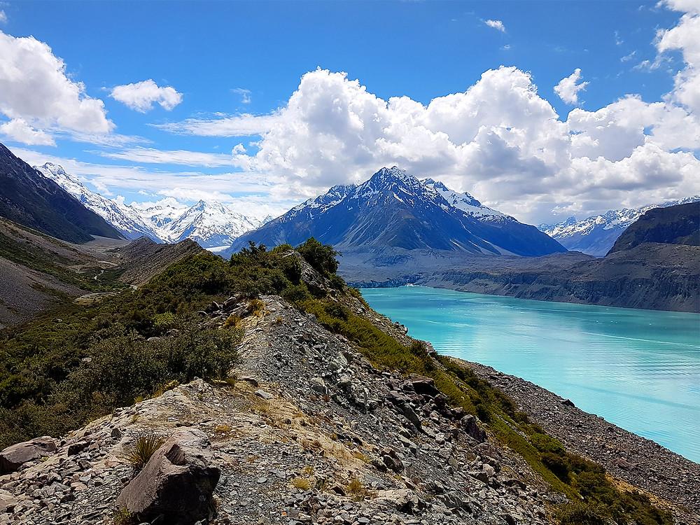 Hooker valley New Zealand Mount Cook