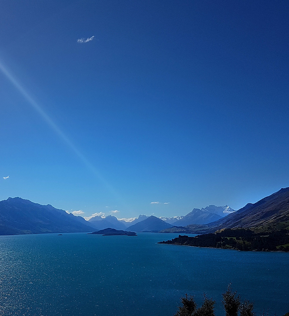 Glenorchy mountains new zealand queenstown
