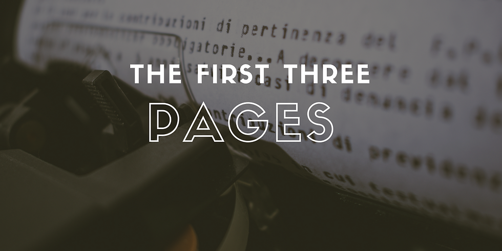 The First Three Pages