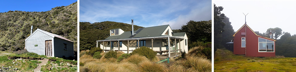 backcountry huts new zealand manuka sunrise kirwins