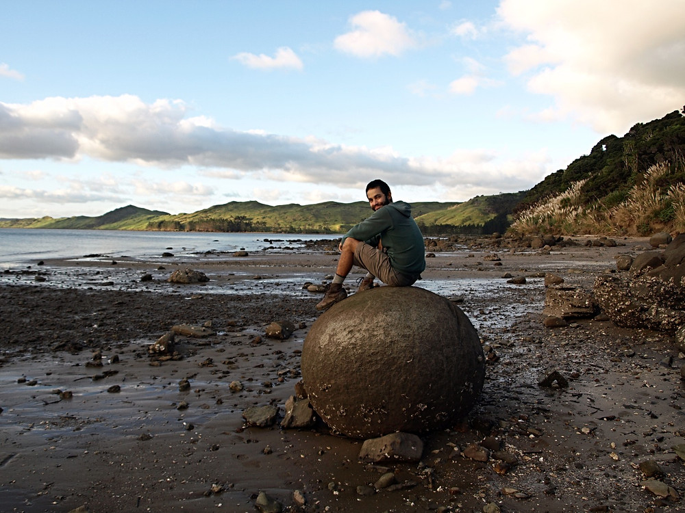 New zealand koutu boulders