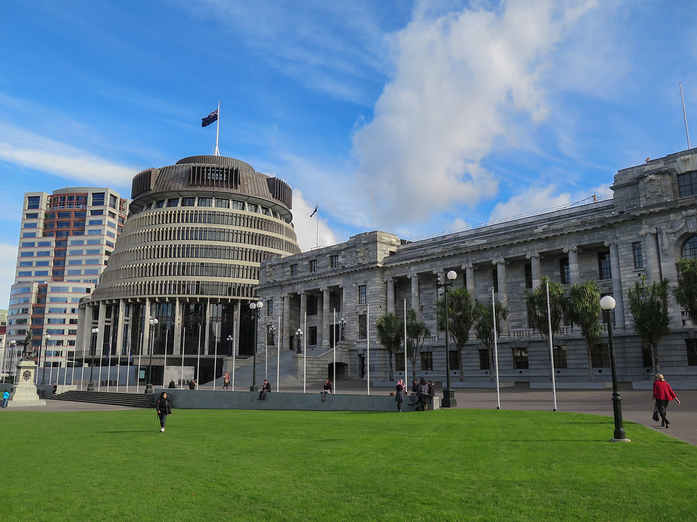 Beehive parliament new zealand