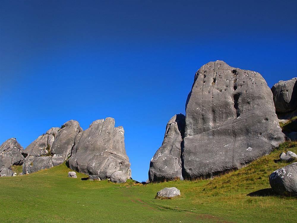 Castle hill arthurs pass new zealand