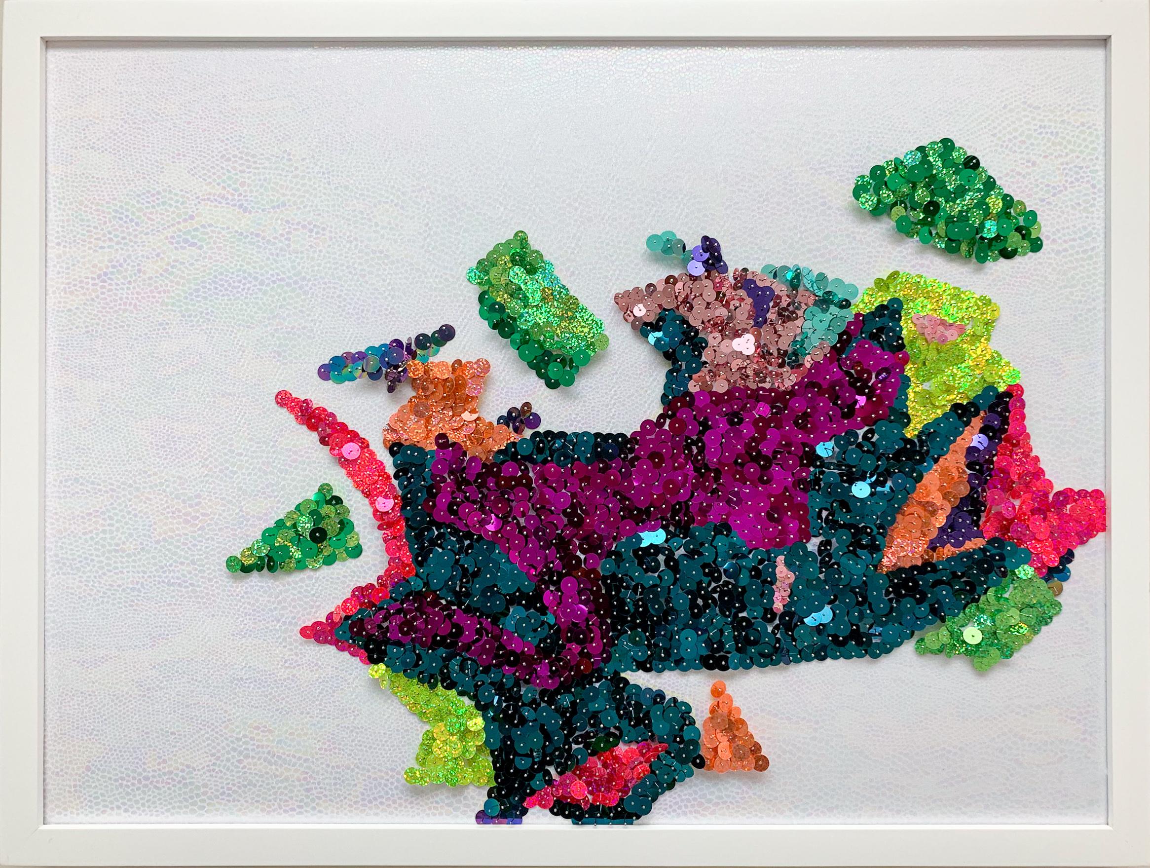 Fragmented Flowers (glimmer) 5