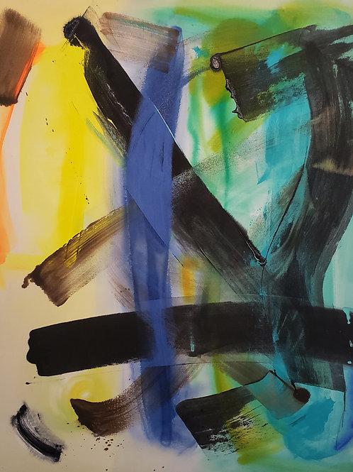 $40/mo Hydra by Beth Adams 54x48