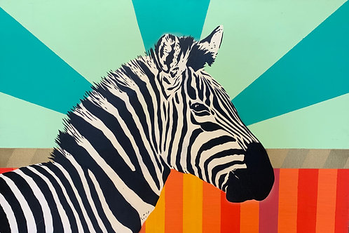 $30/mo Zebra by Urbansoule 24x36
