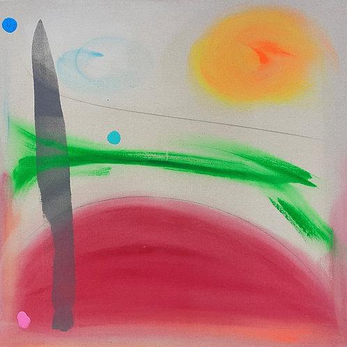 $30/mo Watermelon by Beth Adams 36x36