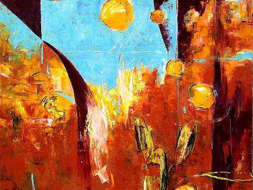 $40/mo Valle dei Templi by Kenneth Susynski 42x52