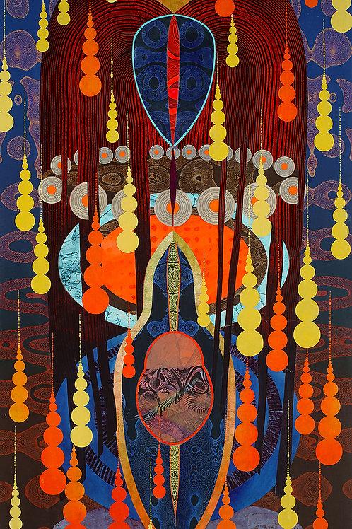 $45/mo Kali Chaya Red Head by Kate Sweeney 54x30