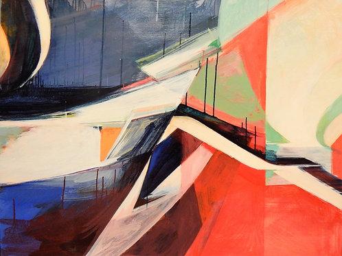 $40/mo April Underpass by Amanda Coleman 36x48