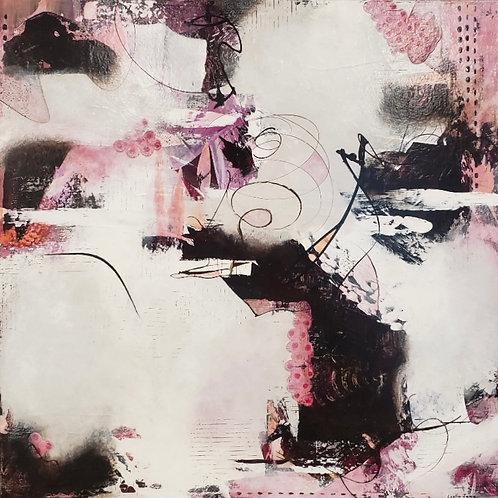 $30/mo Cherries and Chocolate by Lezlie Jane 24x24