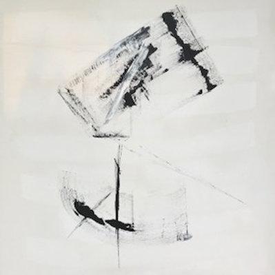 $45/mo Black and White Box by Beth Adams 55x48