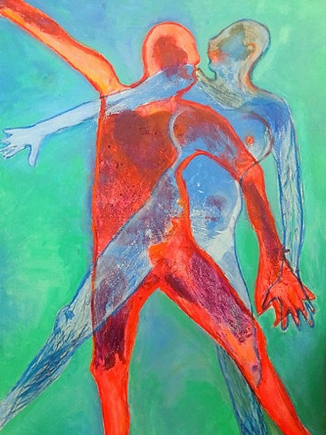 $40/mo Becoming One by Jara Mohlman 72x48
