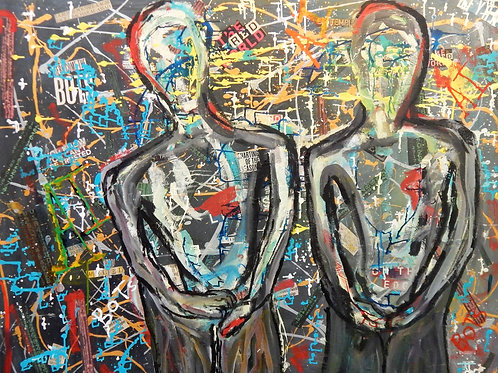 Out of Stock $40/mo Street Medicine by Peter Knox 42x52