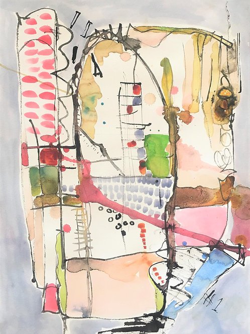 Out of Stock $30/mo Escape Plan 1 by Jacqueline Calladine 32x25