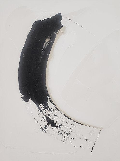 $35/mo Black Sweep Zen by Beth Adams 40x32.5