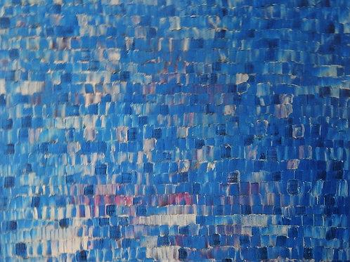 $30/mo Blue by Jason Sinclair Astorquia 30x36