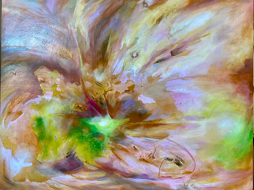 $40/mo Noise between Winter and Spring by Amanda Hood 32x40