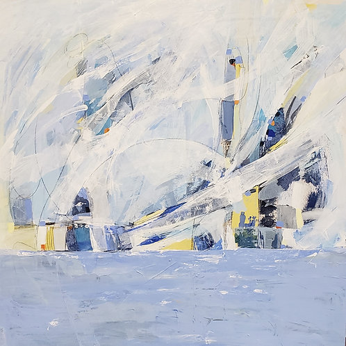Out of Stock $30/mo Wind over Water by Diana Grant 36x36