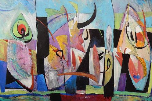 $40/mo Fandango by Peter Juvonen 42x72