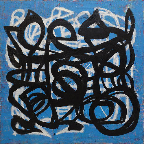 $40/mo Untitled #640 by Kellie Becker 40x40