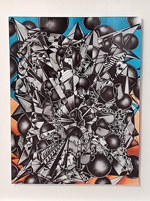 $30/mo Inner City by Toni Almerico 32x25
