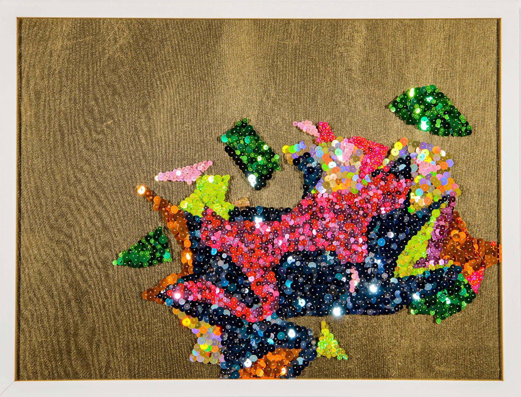 Fragmented Flowers (glimmer) 1