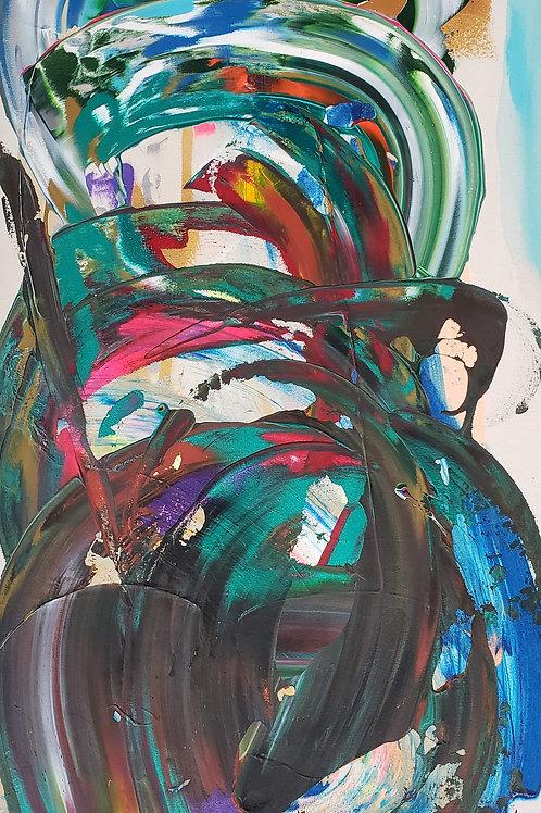 $30/mo Chaos by Beth Adams 48x28