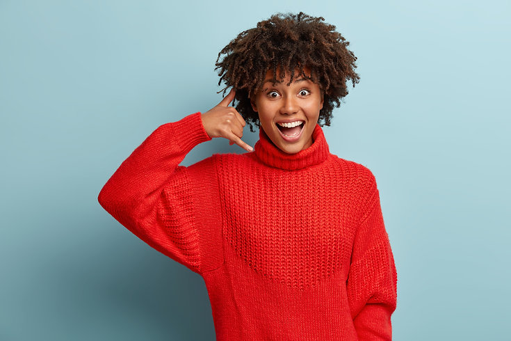 happy-overjoyed-afro-american-woman-show