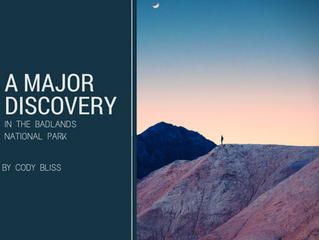 A Major Discovery: In the Badlands National Park