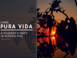Living Pura Vida: A Student's Shift in Perspective