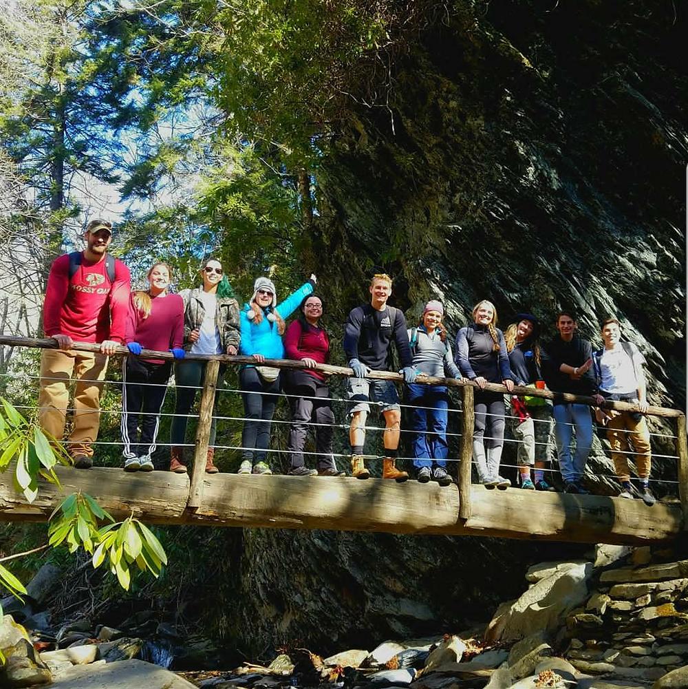 Student group in North Carolina