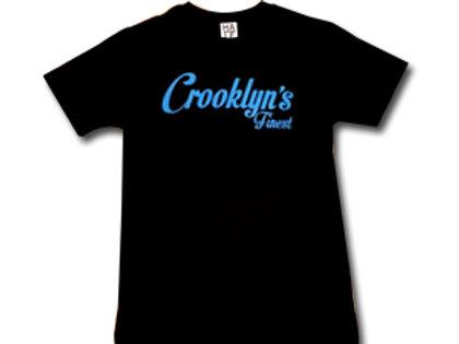 SILKSCREEN CROOKLYN'S FINEST T-SHIRT