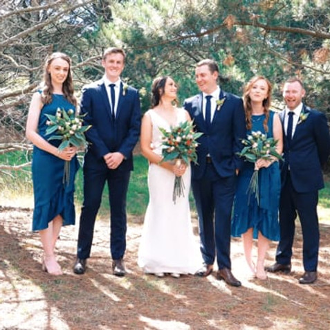 Laura and William, Lawsons Lodge - Macedon