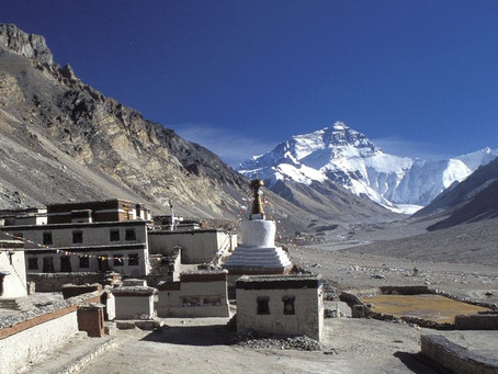 """""""Because It's There,"""" I've Been There.  My Journey to Everest Base Camp"""