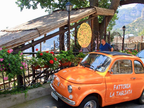 Kiss-Ass one: La Tagliato Restaurant