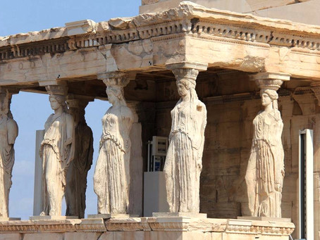 The Caryatid Porch of Athens
