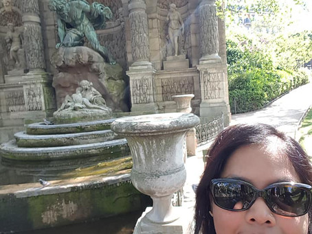 Fontaine Medicis in Jardin du Luxembourg Pairs