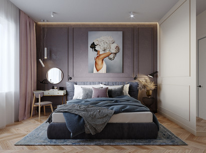 Bedroom in Moscow 14 sq.m.